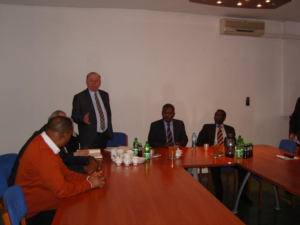 Rozmowy Ambasadora Tanzanii z TAMEH