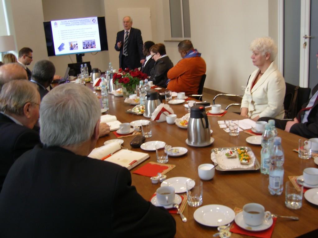 rozmowy Ambasadora Tanzanii z Rektorami AGH