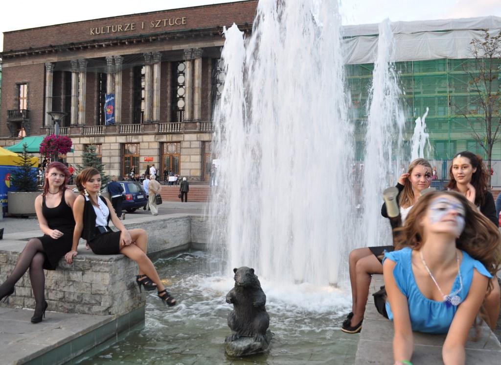 Festiwal Ludzi Aktywnych pokaz modelki
